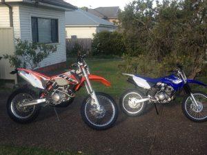 bikes ktm yam