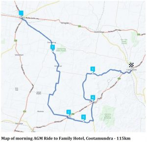 Map of ride