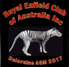 Royal Enfield Club of Australia 2017 AGM Deloraine TAS