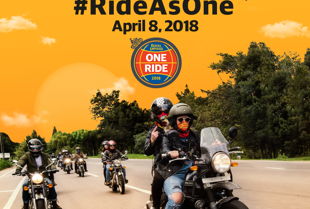 Royal Enfield Motociclo – One Ride 2018