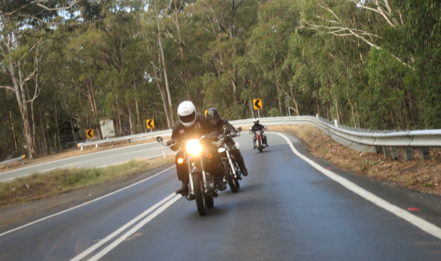 N:\My Data\Clubs\RECOAINC\Trip Reports\2018 06 08 Winter Rally Tathra\Photos\IMG_2914 craig on tank.jpg