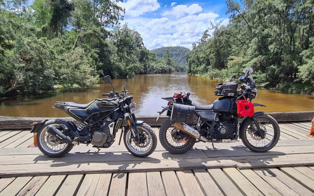 Wisemans Ferry and Colo Dirt Ride